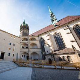 Dielen in Schlosskirche Wittenberg