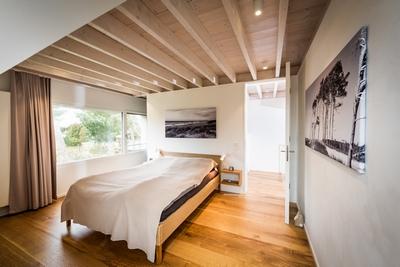 Natürlich Wohnen mit einem Holzboden