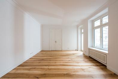 Massivholzdielen Fußbodenheizung Esche Dielen