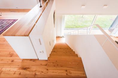 Treppenstufen Lärchendielen