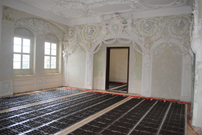 Schloss mit Fußbodenheizung von Ripal