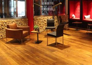 Hotel Holzboden aus Eiche - Eingangsbereich