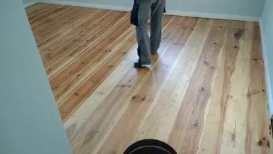 Fußbodendielen Kiefer