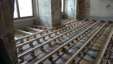 Dielenboden Unterkonstruktion