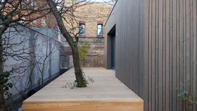 Terrassenboden aus Lärche