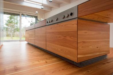 Dielenboden in der Küche